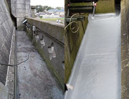 Cobh Cathedral Gutter Repair